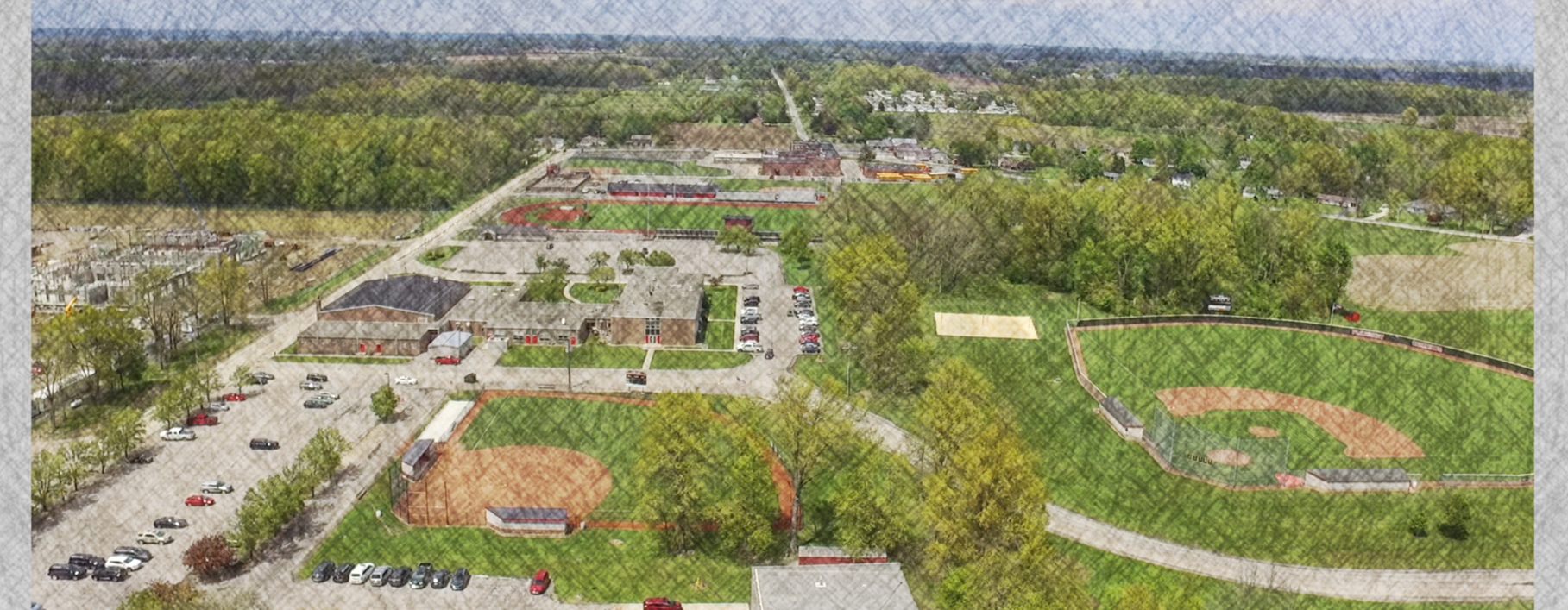 Aerial View view of Campus